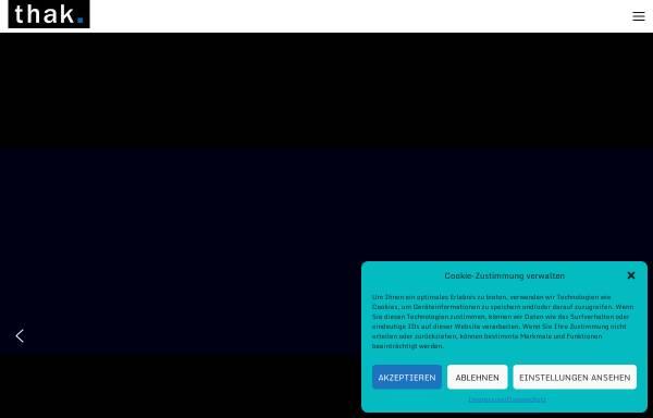 Vorschau von thak.de, Thak-Werbung und Kommunikation