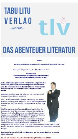 Vorschau der mobilen Webseite kloy.de, Tabu Litu