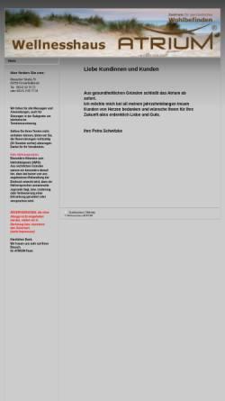 Vorschau der mobilen Webseite www.atrium-ffb.de, Atrium