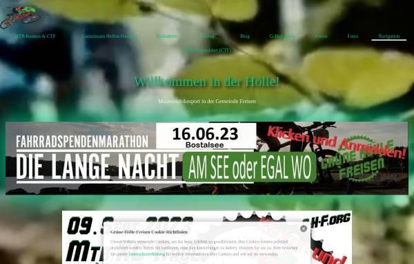Vorschau von www.xn--grne-hlle-freisen-4zb3i.de, Grüne Hölle - Mountainbike-Cross-Country-Rennen und Country-Tourenfahrten