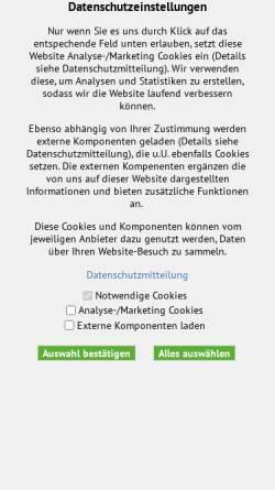 Vorschau der mobilen Webseite www.alpenverein.or.at, Alpenvereinsjugend