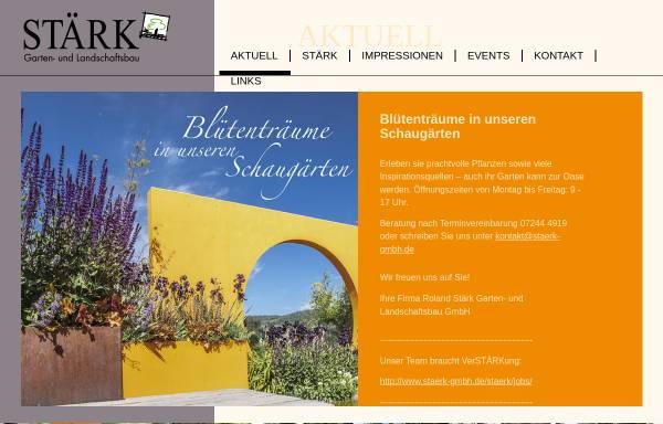 Vorschau von www.staerk-gmbh.de, Roland Stärk GmbH