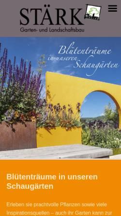 Vorschau der mobilen Webseite www.staerk-gmbh.de, Roland Stärk GmbH