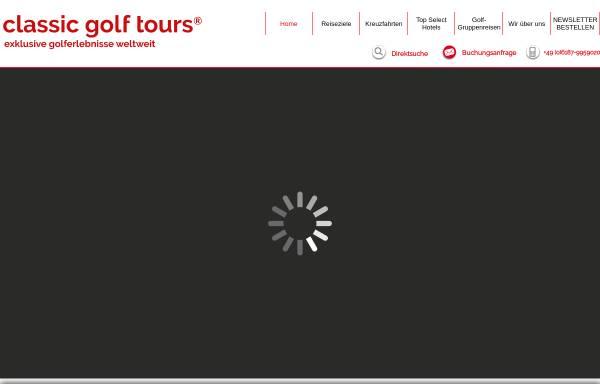Vorschau von www.classicgolfimmobilien.de, Classic Golf Immobilien