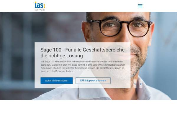 Vorschau von www.ias-web.de, IAS Individual Applications Solutions Software und Internet Riga, Seel und Jost GbR