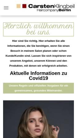 Carsten Klingbeil Hair Company In Berlin Friseure Wellness Und