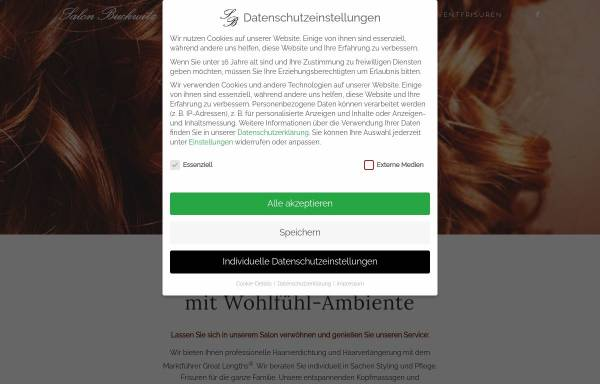 Vorschau von www.salon-buckwitz.de, Salon Buckwitz