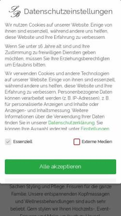 Vorschau der mobilen Webseite www.salon-buckwitz.de, Salon Buckwitz