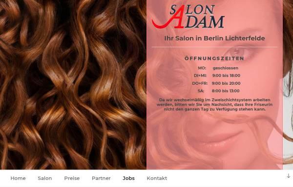 Vorschau von www.salon-adam.de, Salon-Adam