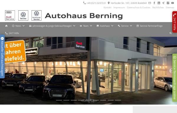 Vorschau von www.autohaus-berning.de, Autohaus Berning KG