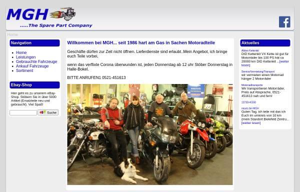 Vorschau von www.mgh-shop.de, MGH - Motorradteile GmbH