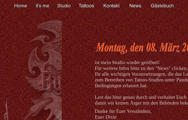 Vorschau von www.dixies-tattoo.de, Dixies Tattoo, Claus Austermühl