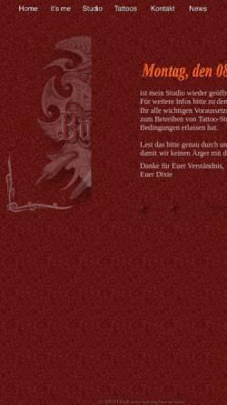 Vorschau der mobilen Webseite www.dixies-tattoo.de, Dixies Tattoo, Claus Austermühl