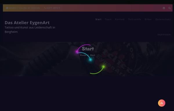 Vorschau von www.eygen-art.de, EygenArt, Martina Breker