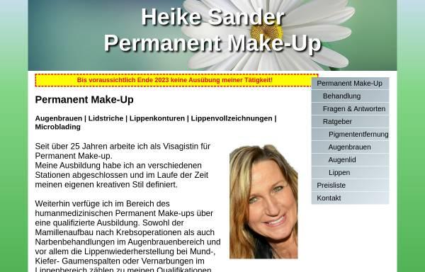 Vorschau von heikesander.de, Heike Sander