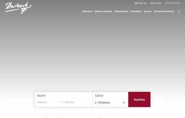 Vorschau von www.durbach.de, Durbach
