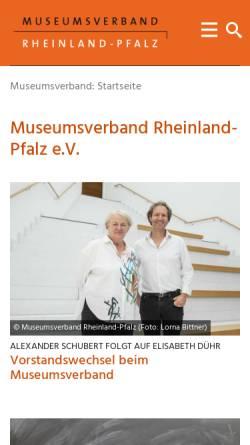 Vorschau der mobilen Webseite www.abenteuer-museum.rlp.de, Abenteuer Museum: Museumspädagogische Angebote in Rheinland-Pfalz