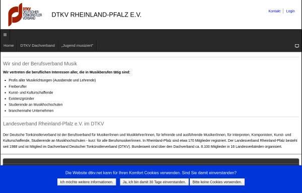 Vorschau von www.dtkv-rlp.de, DTKV - Landesverband Rheinland-Pfalz e.V.