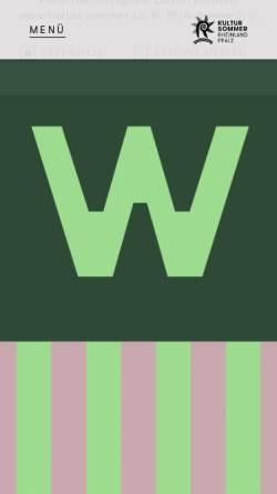 Vorschau der mobilen Webseite www.kultursommer.de, Kultursommer Rheinland-Pfalz