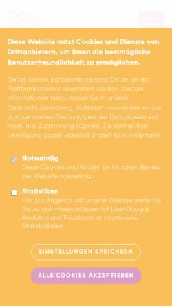 Vorschau der mobilen Webseite www.lag-rockpop-rlp.de, Landesarbeitsgemeinschaft Rock und Pop