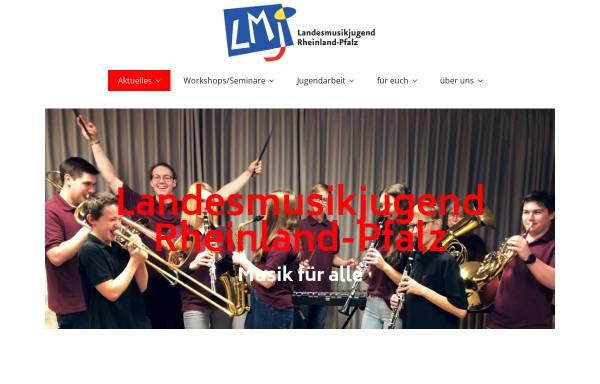 Vorschau von www.lmj-rlp.de, Landesmusikjugend Rheinland-Pfalz