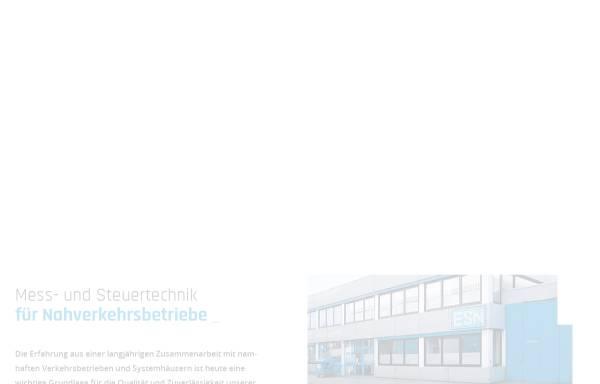 Vorschau von www.esn-online.de, ESN Bahngeräte GmbH