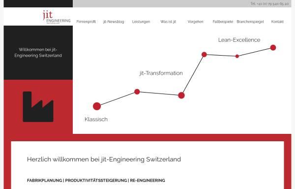 Vorschau von www.jit-engineering.ch, Jit Engineering GmbH