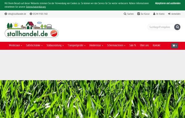 Vorschau von www.stallhandel.de, Stallhandel.de