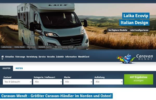 Vorschau von www.caravan-lander.de, Caravan Lander