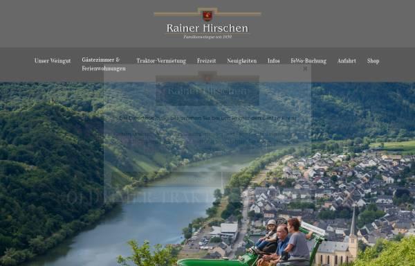 Vorschau von www.weingut-hirschen.de, Ferienweingut Hirschen