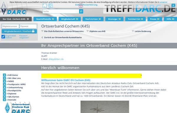 Vorschau von www.darc.de, Burgen- und Schlösser-Diplome