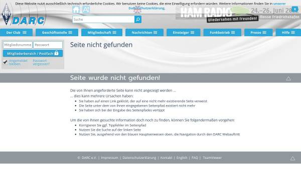 Vorschau von www.darc.de, UKW-EU-Diplom, DLD-UKW-Diplom