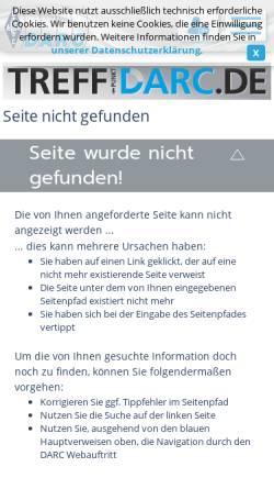 Vorschau der mobilen Webseite www.darc.de, UKW-EU-Diplom, DLD-UKW-Diplom