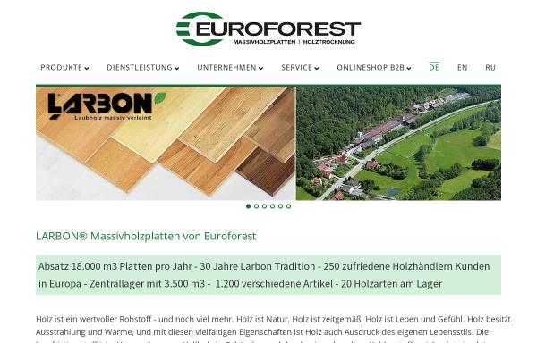 Euroforest Products GmbH in Oberaurach-Unterschleichach: Säge ...