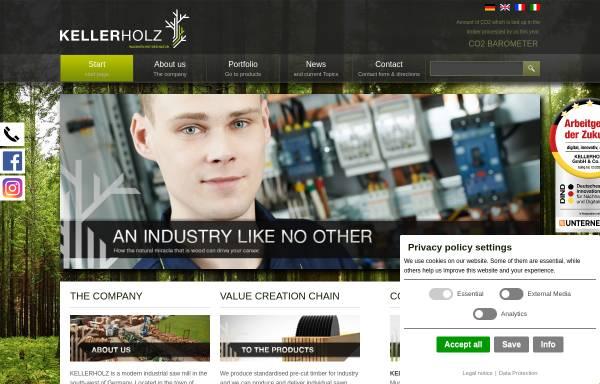 Vorschau von www.keller-holz.com, Keller Holz - Jörg Keller e.K.