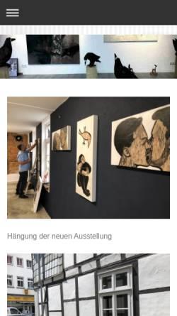 Vorschau der mobilen Webseite www.galerie-gausepohl.eu, Galerie Gausepohl
