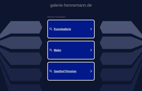Vorschau von www.galerie-hennemann.de, Galerie Marianne Hennemann