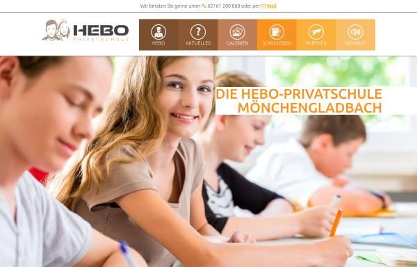 Vorschau von hebo-privatschule.de, Hebo Privatschule