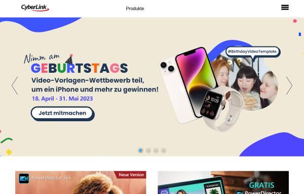 Vorschau von de.cyberlink.com, CyberLink Corp