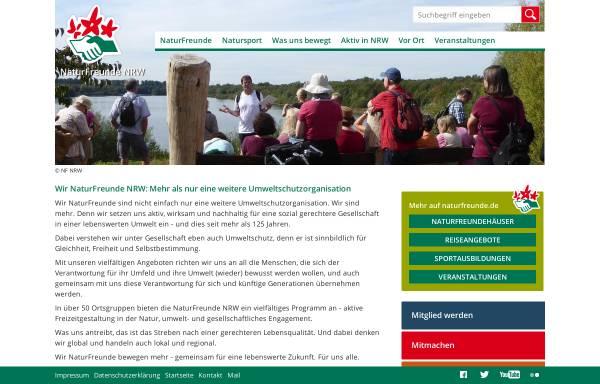 Vorschau von www.naturfreunde-nrw.de, Naturfreunde Deutschlands Landesverband Nordrhein-Westfalen e.V.