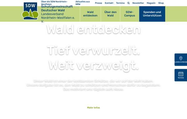 Vorschau von www.sdw-nrw.de, Schutzgemeinschaft Deutscher Wald Landesverband NRW e.V.
