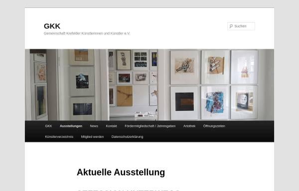 Künstler Krefeld gemeinschaft krefelder künstler gkk e v kultur krefeld gkk ev de