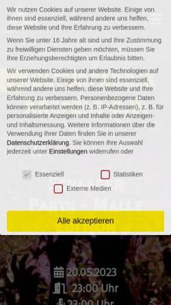 Vorschau der mobilen Webseite www.kulturfabrik-krefeld.de, Kulturfabrik Krefeld e.V.
