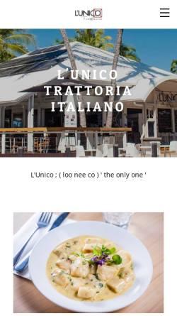 Vorschau der mobilen Webseite www.lunico.com.au, Lunico