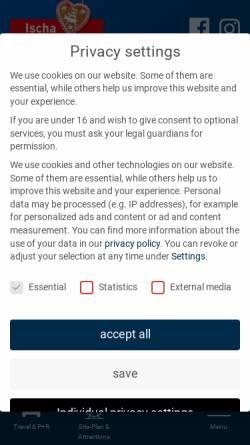 Vorschau der mobilen Webseite www.freimarkt.de, Bremer Freimarkt
