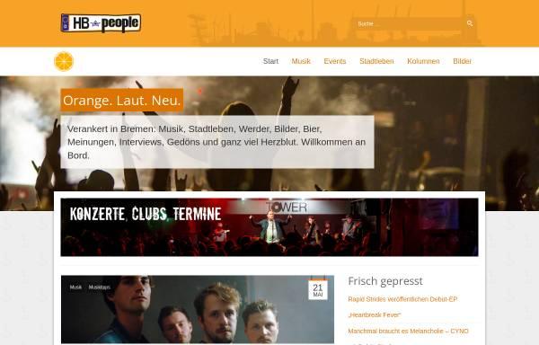 Vorschau von www.hb-people.de, HB-People