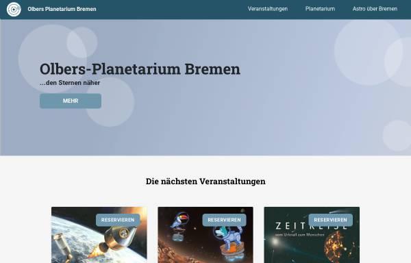 Vorschau von planetarium.hs-bremen.de, Olbers-Planetarium