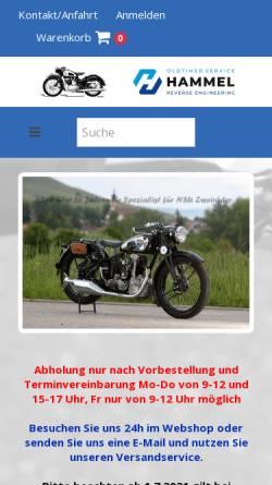 Vorschau der mobilen Webseite www.nsu-hammel.de, NSU-Hammel