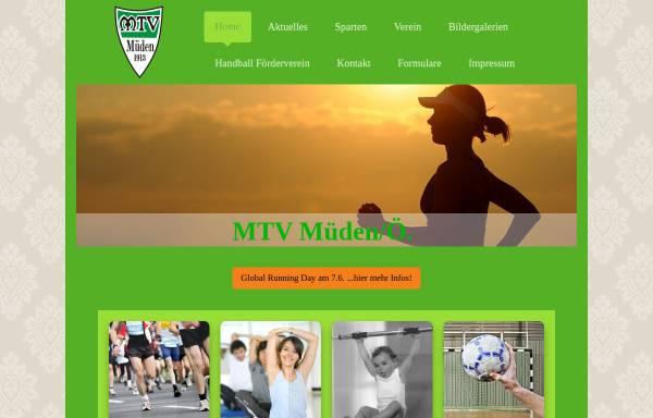 Vorschau von www.mtv-mueden.de, MTV Müden/Örtze