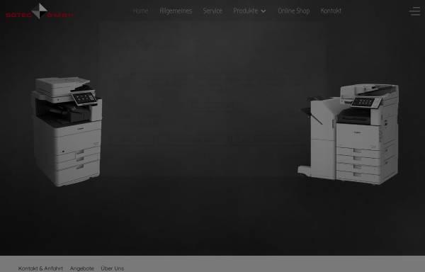 Vorschau von www.sotec-kopierer.de, Sotec Kopiersysteme